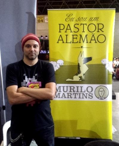 Murilo Martins e seu 'Eu Sou um Pastor Alemão'