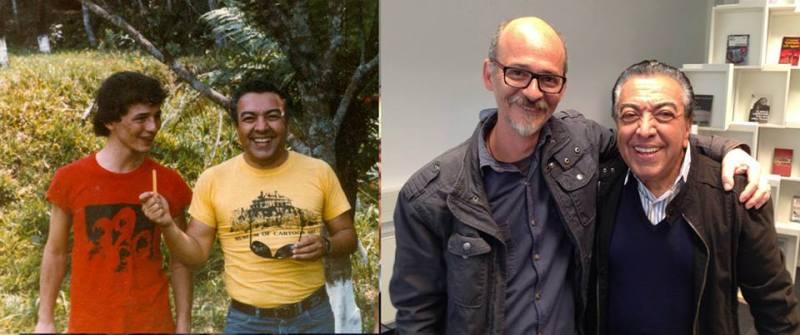 Lourenço Mutarelli e Mauricio de Sousa
