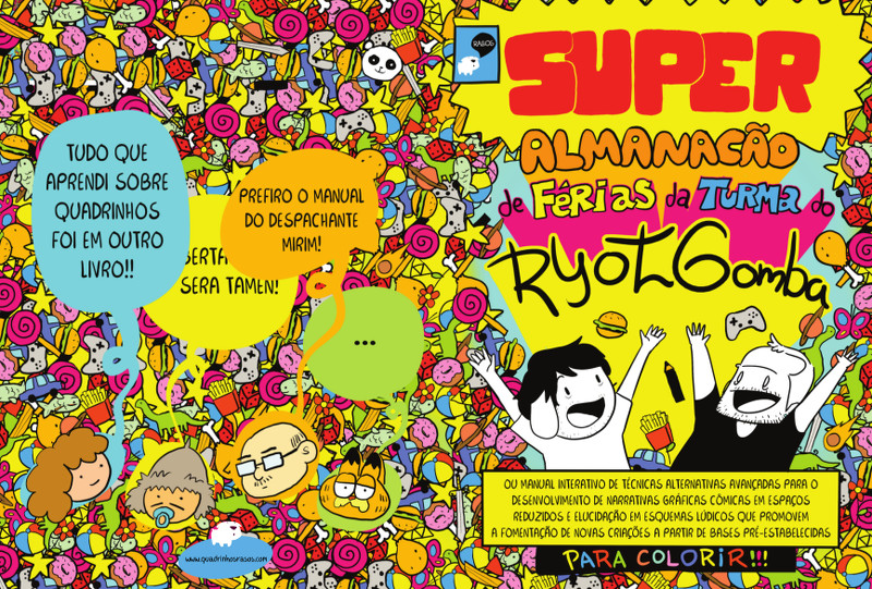 super-almanacao-ferias-ryotgomba-garrocho-tokumoto