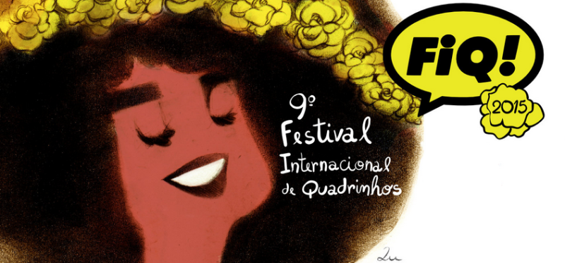 Banner do FIQ 2015, feito pela Lu Cafaggi