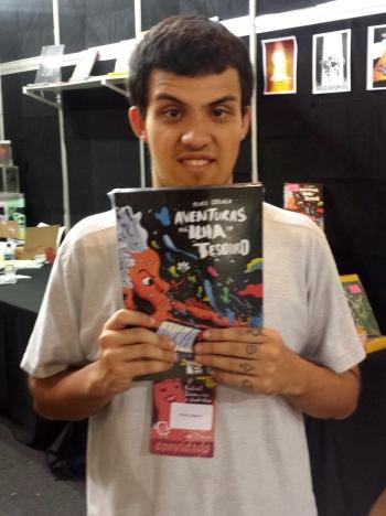 Pedro Cobiaco e seu 'Aventuras na Ilha do Tesouro', publicado pela Editora Mino